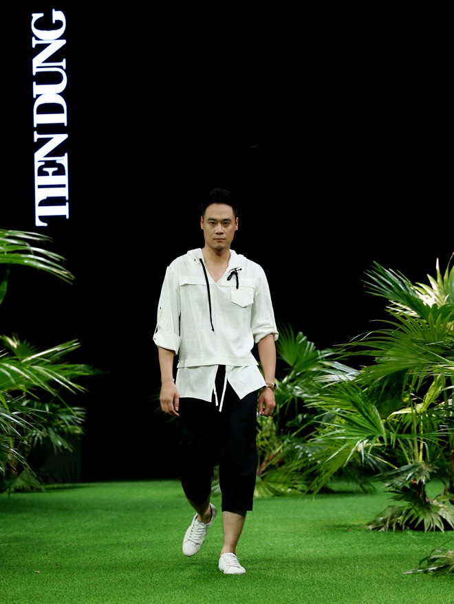 Vietnam Fashion Week: Xanh mướt xuân hè châu Á nhiệt đới mới - ảnh 8