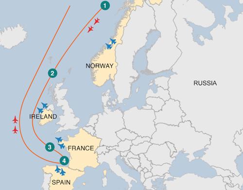 Vì sao 4 nước châu Âu điều tiêm kích chặn oanh tạc cơ Nga - ảnh 1