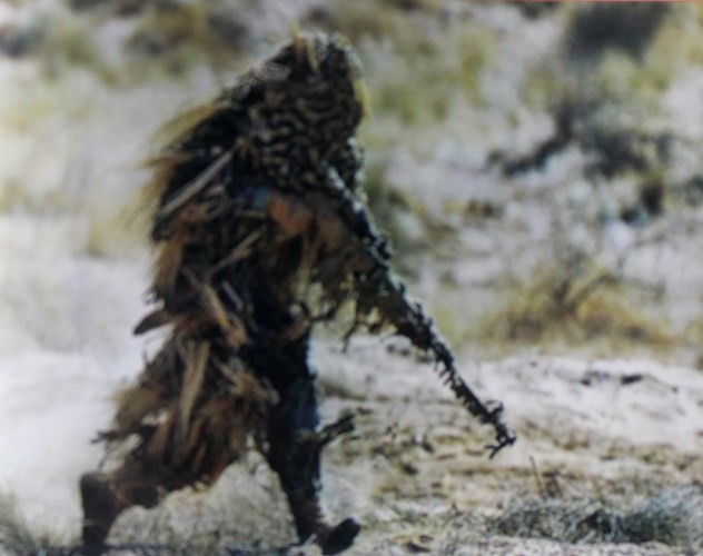 Muôn màu quân phục ngụy trang của quân đội thế giới - ảnh 1
