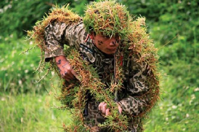 Muôn màu quân phục ngụy trang của quân đội thế giới - ảnh 3