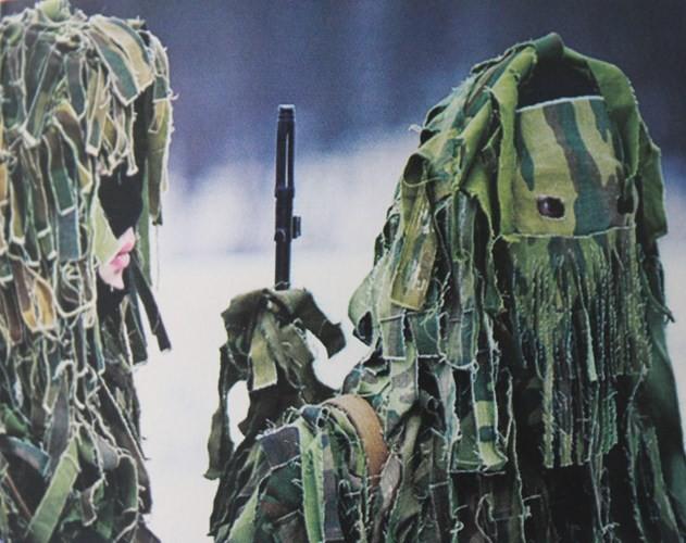 Muôn màu quân phục ngụy trang của quân đội thế giới - ảnh 5