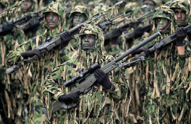 Muôn màu quân phục ngụy trang của quân đội thế giới - ảnh 7