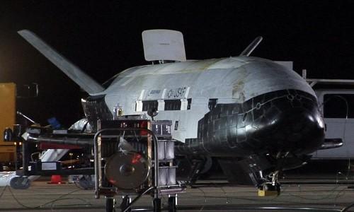 Máy bay bí mật của quân đội Mỹ ở trên quỹ đạo 500 ngày - ảnh 1
