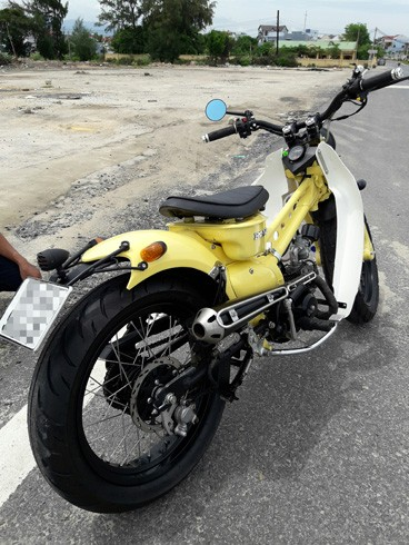 Honda Super Cub độ 'độc' của chàng trai Khánh Hòa - ảnh 3