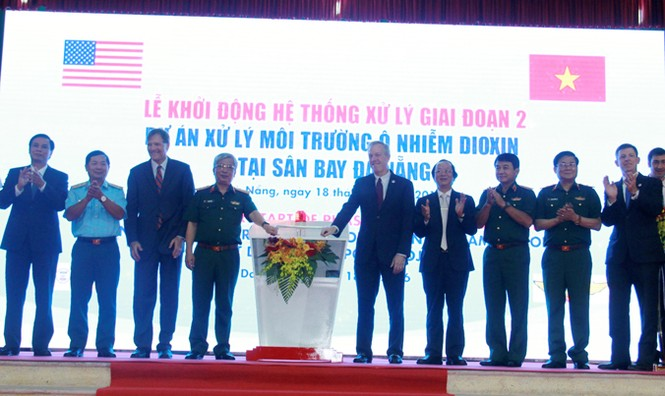 Xử lý 45.000 mét khối đất và bùn nhiễm dioxin tại Đà Nẵng - ảnh 1