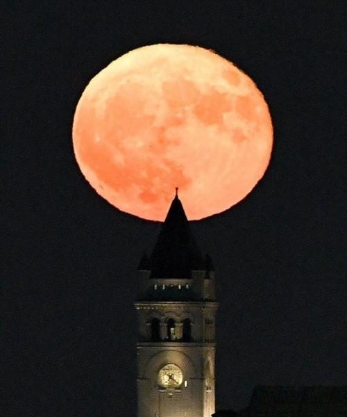 Siêu trăng vừa xuất hiện trên bầu trời các nước - ảnh 1