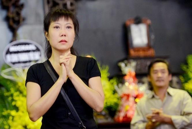 Gia đình, đồng nghiệp nghẹn ngào ở đám tang NSƯT Phạm Bằng - ảnh 10