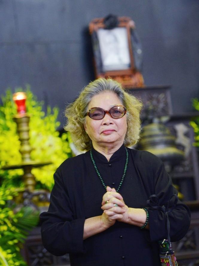 Gia đình, đồng nghiệp nghẹn ngào ở đám tang NSƯT Phạm Bằng - ảnh 11