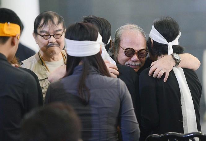 Gia đình, đồng nghiệp nghẹn ngào ở đám tang NSƯT Phạm Bằng - ảnh 16