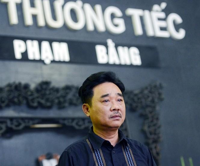 Gia đình, đồng nghiệp nghẹn ngào ở đám tang NSƯT Phạm Bằng - ảnh 1