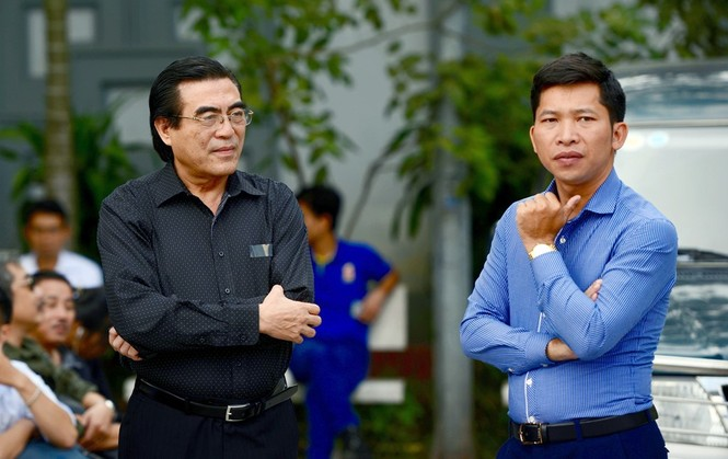 Gia đình, đồng nghiệp nghẹn ngào ở đám tang NSƯT Phạm Bằng - ảnh 3