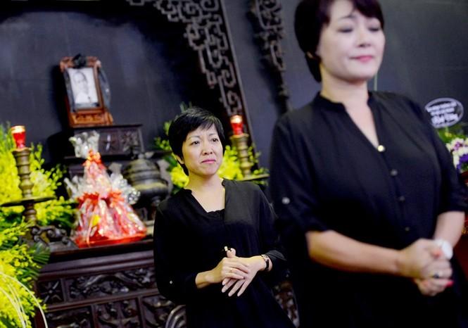 Gia đình, đồng nghiệp nghẹn ngào ở đám tang NSƯT Phạm Bằng - ảnh 4