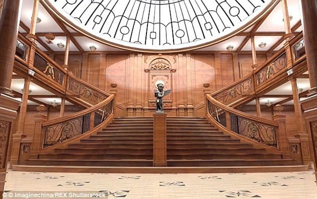 """Trung Quốc đóng tàu Titanic """"nhái"""" để hút khách du lịch - ảnh 4"""