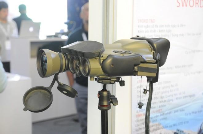 Dàn khí tài điện tử Mỹ, Pháp tối tân được trưng bày ở Hà Nội - ảnh 2
