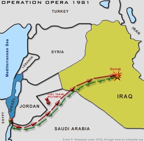 Trận tập kích nhà máy hạt nhân Iraq của tiêm kích Israel - ảnh 1