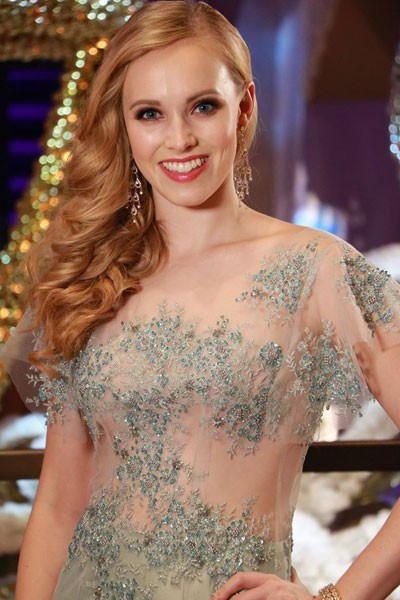Người đẹp Hoa hậu Thế giới quyến rũ trong trang phục dạ hội - ảnh 12