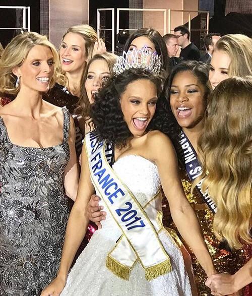 Nhan sắc tuổi 18 của Hoa hậu Pháp 2017 - ảnh 3