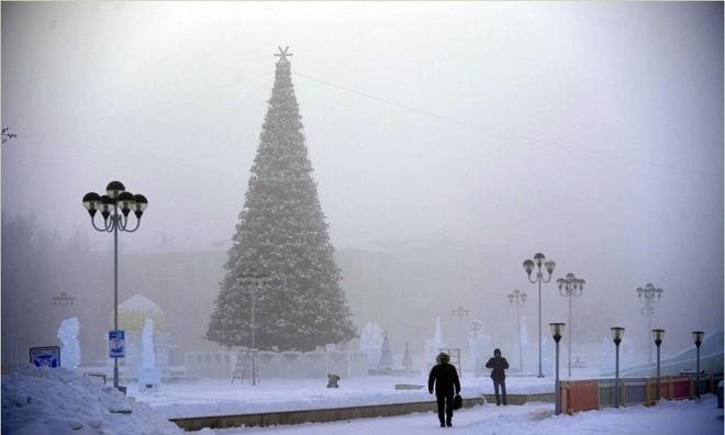 Râu tóc đóng băng trong giá lạnh kỷ lục -62 độ C ở Nga - ảnh 5