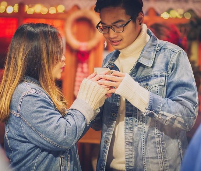 Bộ ảnh Noel ấm ấp của cặp du học sinh Việt tại Đức - ảnh 6