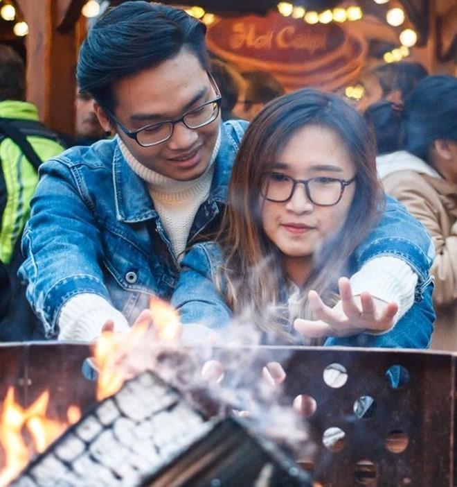 Bộ ảnh Noel ấm ấp của cặp du học sinh Việt tại Đức - ảnh 7
