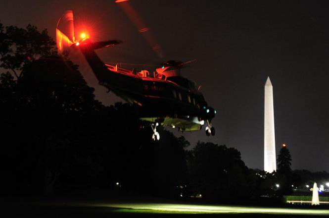 """""""Xe SH bay"""" tiện nghi của Tổng thống Mỹ - ảnh 1"""