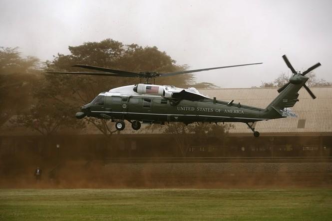 """""""Xe SH bay"""" tiện nghi của Tổng thống Mỹ - ảnh 4"""