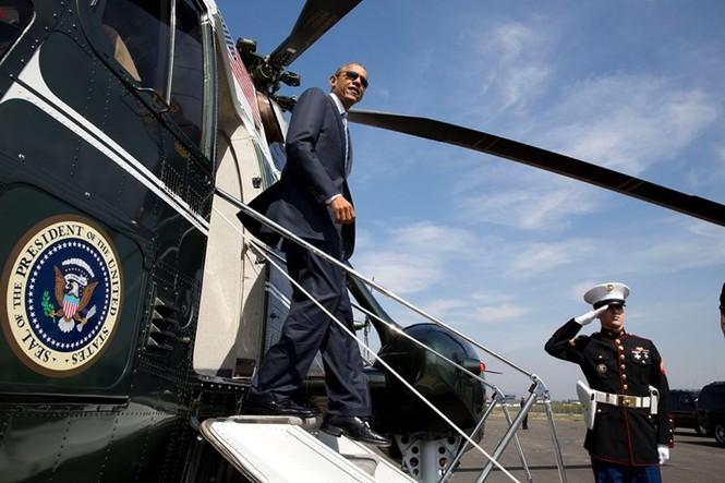 """""""Xe SH bay"""" tiện nghi của Tổng thống Mỹ - ảnh 5"""