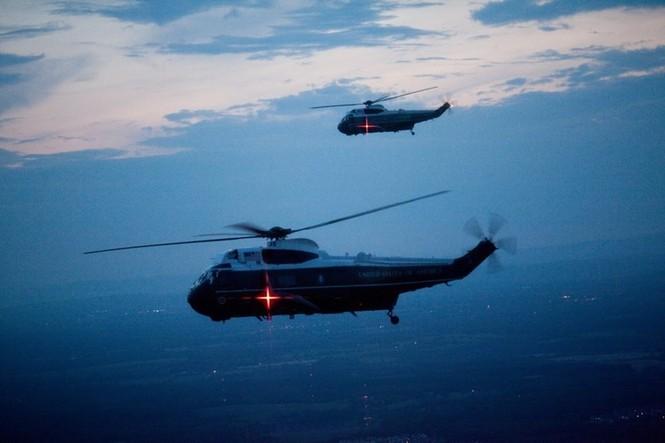 """""""Xe SH bay"""" tiện nghi của Tổng thống Mỹ - ảnh 8"""