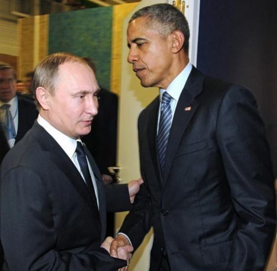 Những cuộc gặp đáng nhớ giữa ông Putin và ông Obama - ảnh 6