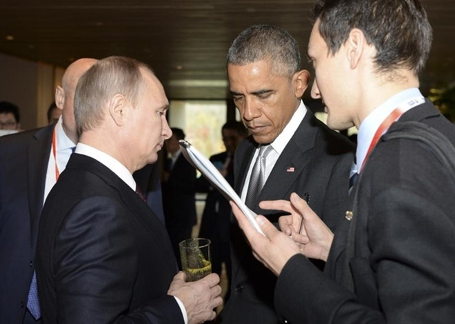 Những cuộc gặp đáng nhớ giữa ông Putin và ông Obama - ảnh 4
