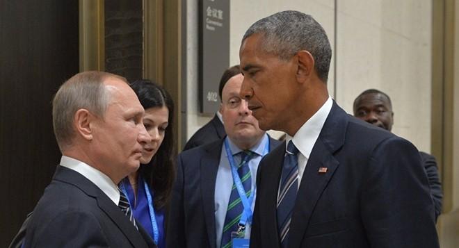 Những cuộc gặp đáng nhớ giữa ông Putin và ông Obama - ảnh 7