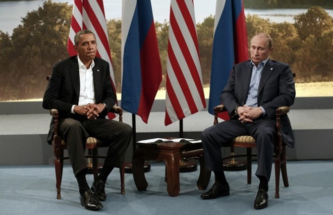 Những cuộc gặp đáng nhớ giữa ông Putin và ông Obama - ảnh 3