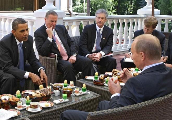 Những cuộc gặp đáng nhớ giữa ông Putin và ông Obama - ảnh 1