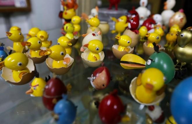 Bộ sưu tập vỏ trứng của thầy giáo về hưu ở Sài Gòn - ảnh 7