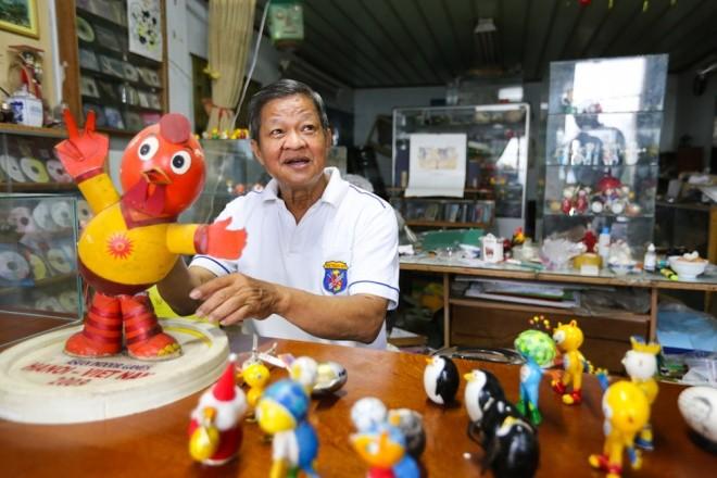 Bộ sưu tập vỏ trứng của thầy giáo về hưu ở Sài Gòn - ảnh 8