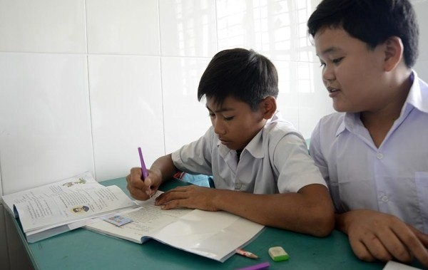 """Lớp học giữa Sài Gòn không biết """"mùi học thêm"""" - ảnh 9"""