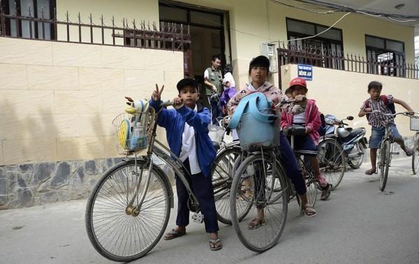 """Lớp học giữa Sài Gòn không biết """"mùi học thêm"""" - ảnh 10"""
