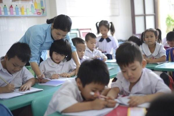 """Lớp học giữa Sài Gòn không biết """"mùi học thêm"""" - ảnh 1"""
