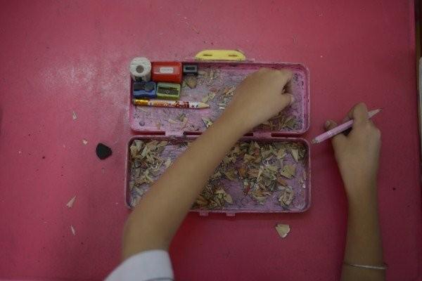 """Lớp học giữa Sài Gòn không biết """"mùi học thêm"""" - ảnh 2"""