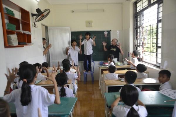 """Lớp học giữa Sài Gòn không biết """"mùi học thêm"""" - ảnh 6"""