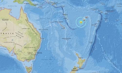 Động đất mạnh gây cảnh báo sóng thần ở Thái Bình Dương - ảnh 1