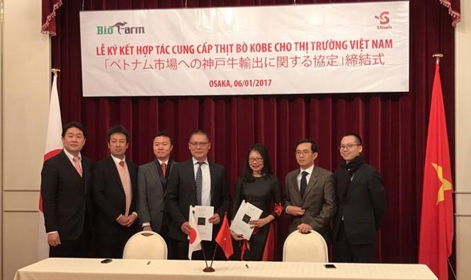 Thịt bò Kobe chuẩn Nhật chính thức về Việt Nam - ảnh 1