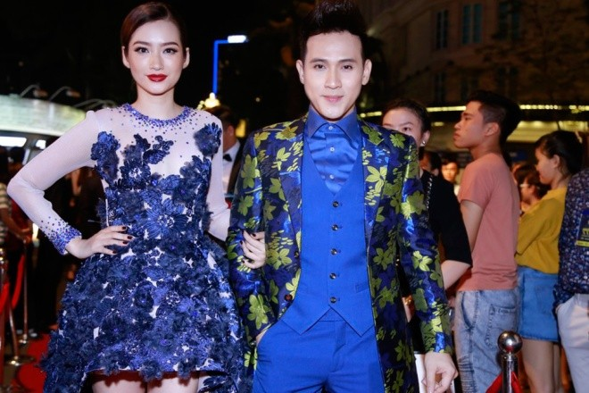 Dàn mỹ nhân Việt 'đổ bộ' thảm đỏ lễ trao giải điện ảnh - ảnh 12