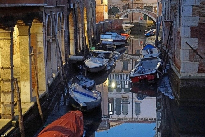 Thành phố nổi Venice có thể biến mất vì cạn nước - ảnh 1