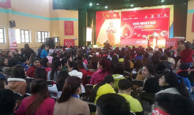 Tưng bừng ngày hội Chủ nhật Đỏ 2017 tại Yên Bái - ảnh 3