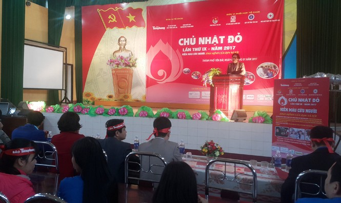 Tưng bừng ngày hội Chủ nhật Đỏ 2017 tại Yên Bái - ảnh 5