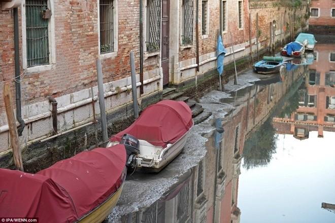 Thành phố nổi Venice có thể biến mất vì cạn nước - ảnh 3