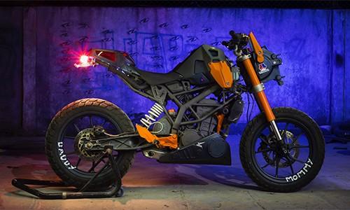 Tròn mắt với KTM Duke 200 độ kỳ quái - ảnh 4