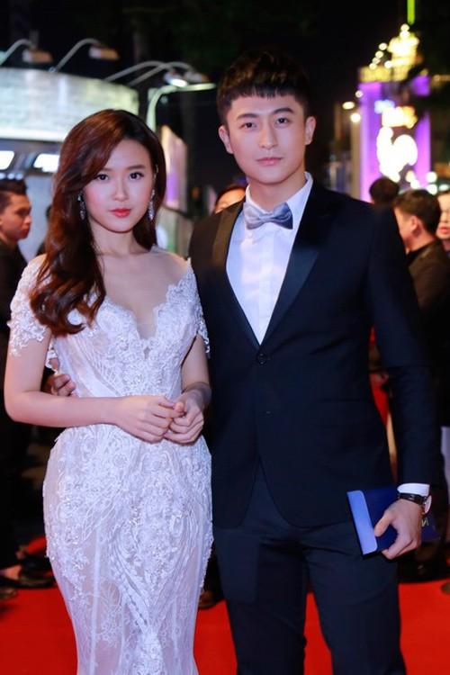 Dàn mỹ nhân Việt 'đổ bộ' thảm đỏ lễ trao giải điện ảnh - ảnh 6