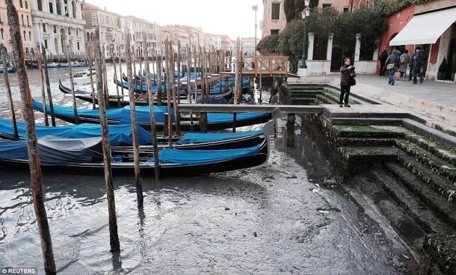 Thành phố nổi Venice có thể biến mất vì cạn nước - ảnh 6